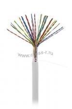 Кабель NETLAN U/UTP 25 пар, Кат.5 (Класс D), 100МГц, одножильный, BC (чистая медь), внутренний, PVC нг(B), серый, 305м ( EC-UU025-5-PVC-GY-3 )