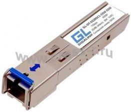 Модуль GIGALINK SFP, WDM, 1Гбит/c, одно волокно SM, SC, Tx:1550/Rx:1310 нм, 20дБ (до 40 км) (GL-31R) ( GL-OT-SG20SC1-1550-1310 )