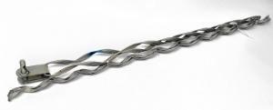 Зажим спиральный натяжной НСО 12кН (в комплекте коуш, протектор) ( НСО-12-9,8/11,5П )