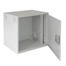 Настенный антивандальный шкаф, 12U, Ш600хВ600хГ450мм, серый ( EC-WS-126045-GY )