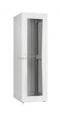 """Напольный шкаф серии Lite 19"""", 24U, стеклянная дверь, Ш600хВ1167хГ800мм, в разобранном виде, серый ( TFI-246080-GMMM-GY )"""