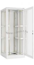 """Напольный шкаф 19"""", 33U, стеклянная дверь, Ш800хВ1680хГ800мм, в разобранном виде, серый ( TFL-338080-GMMM-GY )"""