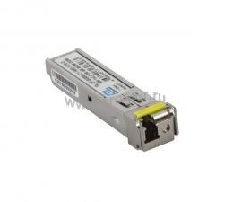Модуль GIGALINK SFP, WDM, 1,25Gb/s одно волокно SM, LC, Tx:1310/Rx:1550 нм, 6 дБ до 3 км ( GL-OT-SG06LC1-1310-1550-B )