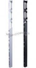 Органайзер кабельный вертикальный TLK-OV650C-33U-BK