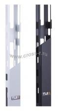 Органайзер кабельный вертикальный TLK-OV650C-24U-BK