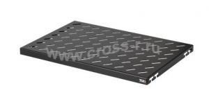 Полка стационарная TLK, Ш463хГ300мм, для шкафа глубиной 450мм, крепеж в комплекте, черная ( TLK-SHFS-300-BK )