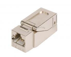 Модуль-вставка NIKOMAX типа Keystone, Кат.6a (Класс Ea), 500МГц, RJ45/8P8C, самозажимной, T568A/B, полный экран, металлик - гарантия: 5 лет расширенная / 25 лет системная ( NMC-KJSA2-NT-MT )