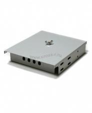 Кросс оптический настенный под 4 порта FC/ST Micro (пустой) (сплошная планка, кассета, монтажный комплект) ( КРН-4FC NULL Micro )