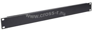 ITK Фальш-панель 1U черная ( FP05-01UM )