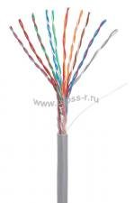 Кабель NETLAN U/UTP 10 пар, Кат.5 (Класс D), 100МГц, одножильный, BC (чистая медь), внутренний, PVC нг(B), серый, 305м ( EC-UU010-5-PVC-GY-3 )