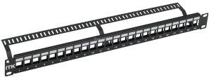 1U Модульная патч-панель ITK UTP 24 порта ( PP24-1UMU )