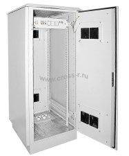 """Шкаф уличный ITK 19"""""""" 24U 720x860, IP55 металл двери, серый ( LO35-24U78-MM55 )"""