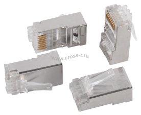 Разъём ITK RJ-45 FTP для кабеля SOLID кат.6 ( CS3-1C6FS )