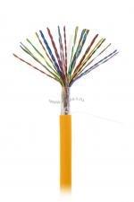 Кабель NETLAN U/UTP 25 пар, Кат.5 (Класс D), 100МГц, одножильный, BC (чистая медь), внутренний, LSZH нг(B)-HF, оранжевый, 305м ( EC-UU025-5-LSZH-OR-3 )