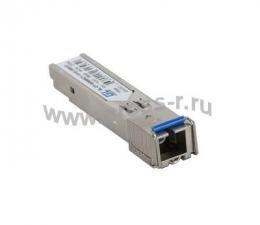 Модуль GIGALINK SFP, WDM, 155Mb/1,25Gb/s одно волокно SM, SC, Tx:1550/Rx:1310 нм, 6 дБ до 3 км ( GL-OT-SG06SC1-1550-1310-B )