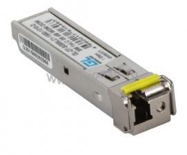 Модуль GIGALINK SFP, WDM, 1Гбит/c, одно волокно SM, LC, Tx:1310/Rx:1550 нм, DDM, 20 дБ (до 40 км) ( GL-OT-SG20LC1-1310-1550-D )