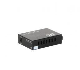 Конвертер GIGALINK из UTP, 100Мбит/c в WDM, LFP, SM, SC, Tx:1310/Rx:1550, 18 дБ (до 20 км) rev2 ( GL-MC-UTPF-SC1F-18SM-1310.r2 )