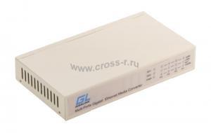 Коммутатор GIGALINK, неуправляемый, 4 порта  1Гбит/с, 2 порта SFP 1 Гбит/с ( GL-SW-G012-04S )