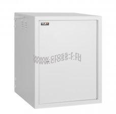 """Настенный антивандальный шкаф 19"""", 15U, Ш600хВ767хГ545мм, серый ( TWS-156054-M-GY )"""