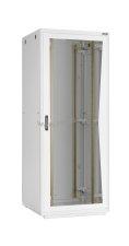 """Напольный шкаф 19"""", 18U, металлическая дверь, Ш600хВ998хГ600мм, в разобранном виде, серый ( TFR-186060-MMMM-GY )"""