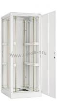 """Напольный шкаф 19"""", 24U, металлическая дверь, Ш600хВ1280хГ800мм, в разобранном виде, серый ( TFL-246080-MMMM-GY )"""