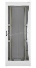 """Напольный шкаф 19"""", 47U, стеклянная дверь, Ш600хВ2302хГ600мм, в разобранном виде, серый ( TFL-476060-GMMM-GY )"""