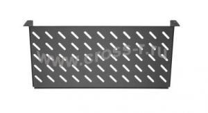 """Полка фронтальная TLK, 19"""", 2U, глубиной 200мм, крепеж в комплекте, черная ( TLK-SHFR-200-BK )"""