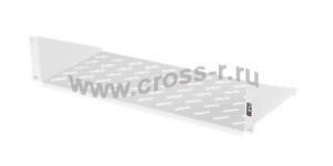 """Полка фронтальная TLK, 19"""", 2U, глубиной 200мм, крепеж в комплекте, серая ( TLK-SHFR-200-GY )"""