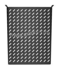 """Полка фронтальная TLK, 19"""", 2U, глубиной 300мм, крепеж в комплекте, черная ( TLK-SHFR-300-BK )"""