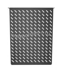 """Полка фронтальная TLK, 19"""", 2U, глубиной 600мм, крепеж в комплекте, черная ( TLK-SHFR-600-BK )"""