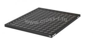 Полка стационарная TLK, Ш463хГ550мм, для шкафа глубиной 800мм, крепеж в комплекте, черная ( TLK-SHFS-550-BK )