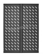 """Полка стационарная усиленная TLK, 19"""", Ш437хГ660мм, для шкафа и стойки глубиной 800мм, черная ( TLK-SHFC-660F-BK )"""