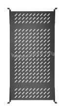 """Полка стационарная усиленная TLK, 19"""", Ш437хГ660мм, для шкафа и стойки глубиной 800мм, черная ( TLK-SHFC-860F-BK )"""