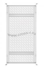 """Полка стационарная усиленная TLK, 19"""", Ш437хГ660мм, для шкафа и стойки глубиной 800мм, черная ( TLK-SHFC-860F-GY )"""
