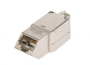 Модуль-вставка NIKOMAX типа Keystone, угловой, для панели серии AN, Кат.5е (Класс D), 100МГц, RJ45/8P8C, FT-TOOL/110/KRONE, T568A/B, полный экран, металлик - гарантия: 5 лет расширенная / 25 лет системная ( NMC-KJSD2-AN-MT )