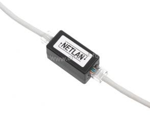 Кабельный соединитель NETLAN RJ45-RJ45 (8P8C), Кат.5e (Класс D), 100МГц, неэкранированный, черный, уп-ка 10шт. ( EC-UCB-55-UD2-BK-10 )