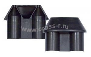 Комплект №9 для ввода ОК (для ввода транзитной петли ОК с проволочной броней и с повивом из синтетических нитей) (МТОК-Б1, В2, В3, К6, ББ) ( 130106-00011 )