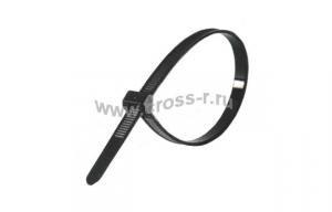 7000035282  FS 100 AW-C Кабельный хомут для использования вне помещений, устойчивый к УФ, черный, уп. 100 шт., 100мм х 2,5мм ( 120806-00038 )
