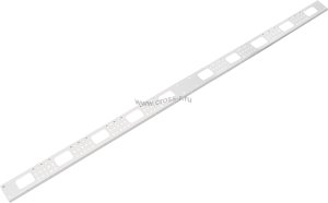 Органайзер кабельный    вертикальный, 42U, для шкафов серий TFI, Ш75хВ1870хГ20мм, металлический, с    крепежом, цвет серый ( TLK-OV75-42U-I-GY )