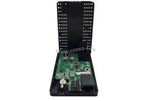Медиаконвертер GIGALINK из UTP, 100Мбит/c в WDM, без LFP, SM, SC, Tx:1550/Rx:1310, 18 дБ (до 20 км) корпус пластиковый ( GL-MC-UTPF-SC1F-18SM-1550-NP )