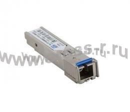 Модуль GIGALINK SFP,    WDM, 1Гбит/c, одно волокно SM, LC, Tx:1490/Rx:1550 нм, DDM, 32 дБ (до 120 км) ( GL-OT-SG32LC1-1490-1550-D )