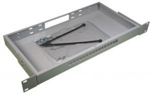 Кросс оптический стоечный 1U под 16 портов SC/LC (пустой) (сплошная планка, монтажный комплект) ( КРС-16SC-1U NULL спл. пл. )