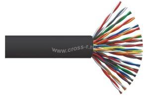 Витая пара ITK F/UTP кат.5E 50х2х24AWG solid LDPE 305м (черный) ( LC3-C5E50-339 )
