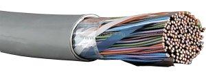 Витая пара ITK F/UTP кат.5E 10х2х24AWG solid PVC 500м (серый) ( LC1-C5E10-311 )