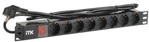 Блок ITK PDU на 8 розеток (PH12-8D1-P)