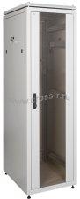 "Сетевой шкаф ITK LINEA N 24U 19"" 600х600 мм ( LN35-24U66-G )"