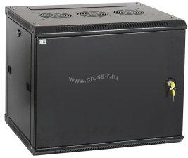 Шкаф ITK LINEA W 12U 600x450 мм дверь металл, RAL9005 ( LWR5-12U64-MF )