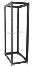 Двухрамная стойка ITK, 45U, 600x800 мм, чёрная ( LF05-45U68-2R )