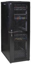 """Шкаф серверный ITK 19"""", 33U, 800х1000 мм, передняя двухстворчатая перф. дверь, задняя перф., черный ( LS05-33U81-2PP-3 )"""