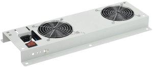 Потолочная вентиляторная панель ITK без термостата, 2 вентиляционный, серая ( FM35-21 )